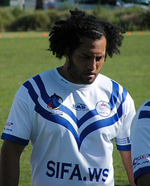 Francis Meli - Meli playing for Samoa in 2008