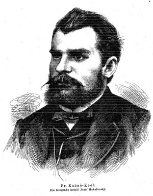 Franjo Kuhač - Franjo Kuhač (1874)