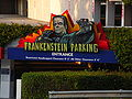 Frankenstein Parking, Universal CityWalk Hollywood 1.JPG