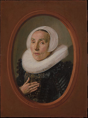 Portrait of Anna van der Aar - Portrait of Anna van der Aar, 1626, Oil on panel, 22.2 x 16.5 cm
