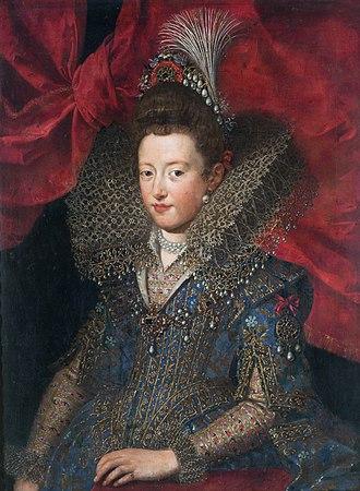 Museo Nacional de Bellas Artes (Buenos Aires) - Image: Frans Pourbus, o Jovem Princesa Margarita Gonzaga, séc. XVI