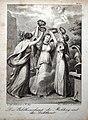 Franz Xaver Stöber (1795-1858) Stahlstich, Die Bildhauerkunst, die Mahlerey und die Dichtkunst, D1632.jpg