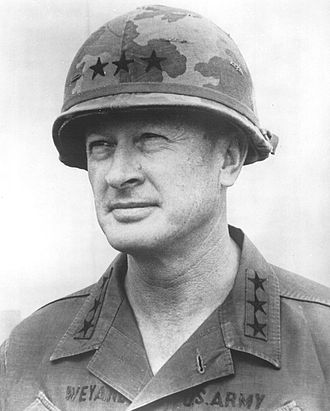 Frederick C. Weyand - Lieutenant General Weyand as Commander of II Field Force in Vietnam.