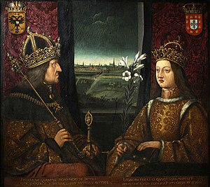 Eleanor of Portugal, Holy Roman Empress - Frederick III and Eleanor of Portugal.