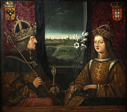 Frederick III and Eleanor of Portugal. Frederick III and Eleanor of Portugal.jpg