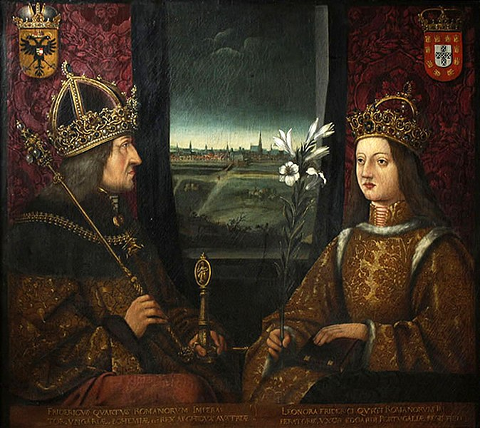 File:Frederick III and Eleanor of Portugal.jpg
