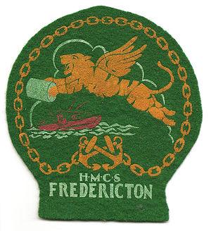 HMCS Fredericton (K245) - Badge of HMCS Fredericton (K245)