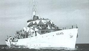 HMCS Fredericton (K245) - Image: Fredericton (K245)