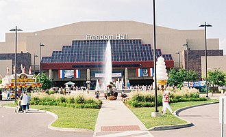 Louisville Cardinals men's basketball - Freedom Hall at the Kentucky Fair and Exposition Center