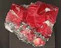 Freiberg, Terra mineralia, Rhodochrosit.JPG
