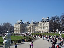 luxembourg palace and gardens - Jardin Du Luxembourg