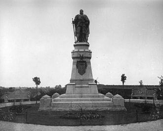 Alexander Calandrelli - Kurfürst FriedrichI. – Denkmal in Friesack (zerstört)