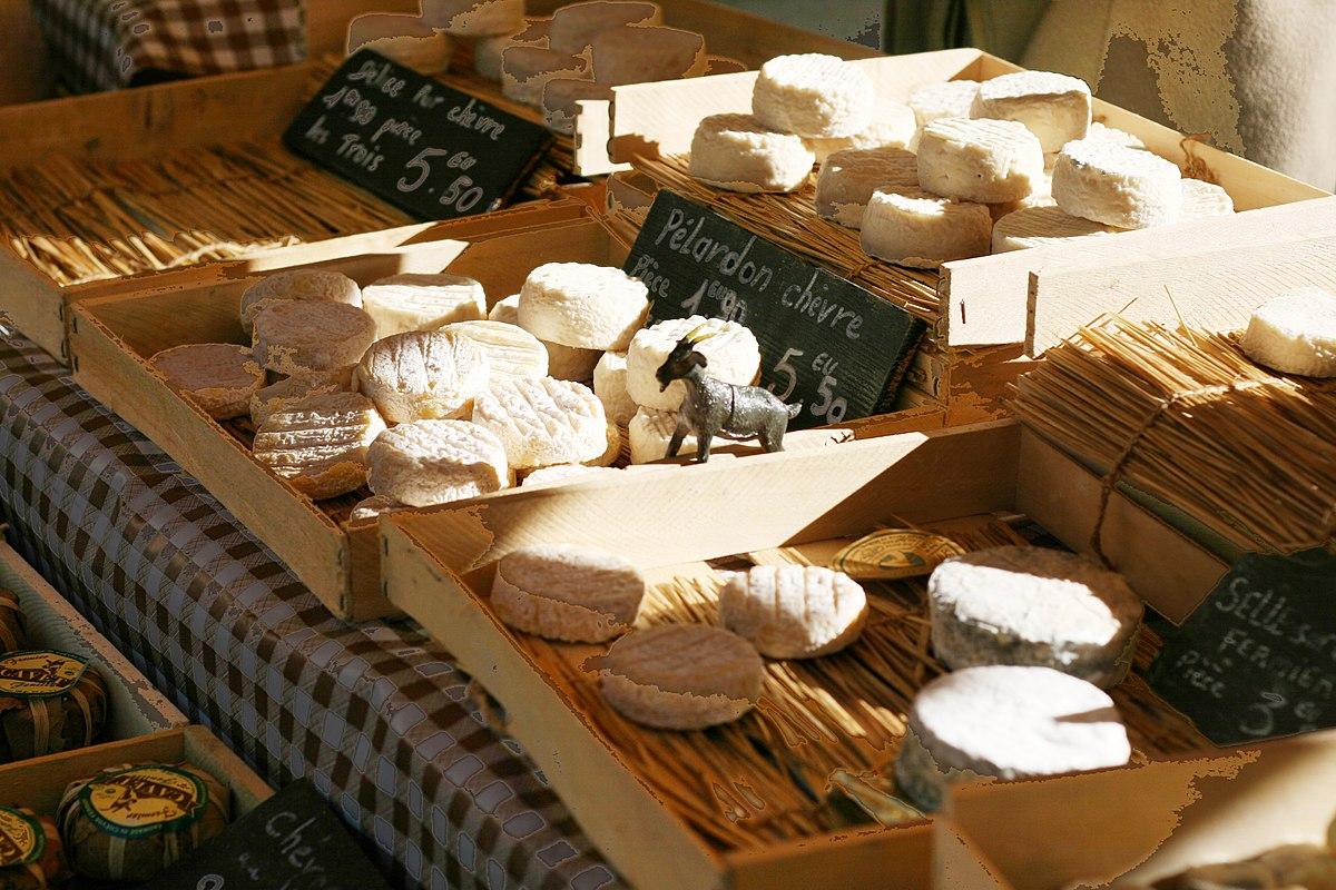 Produits terroir : fromages de chèvre