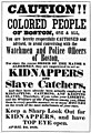 Fugitive Slave Law warning poster, Boston African American National Historic Site, 1851. (e9414990d8d040e9b4242985516987e1).jpg