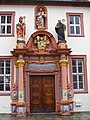 Fulda - Konventsbau, Portal.JPG
