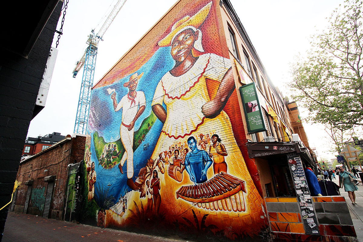 The afro colombian mural currulao y desplazamiento wikidata for Definition mural