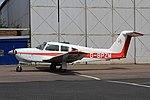 G-BPZM Piper PA28RT Cherokee Arrow IV CVT 31-05-2017 (35664158202).jpg