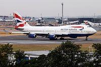 G-BYGG - B744 - British Airways