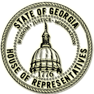 Georgia House of Representatives - Image: GA House Seal