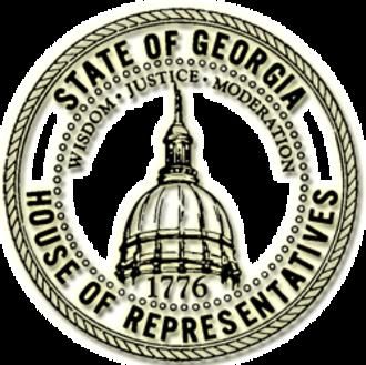 Georgia House of Representatives - Image: GA House Seal