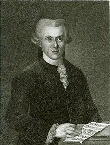 Georg Peter Weimar, nach einem Gemälde von Johann Heinrich Schröder (Quelle: Wikimedia)