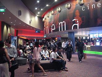 Cinema of Singapore - Golden Village at VivoCity, Singapore