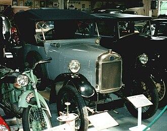 GWK (car) - GWK 1921