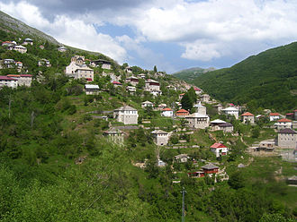 Galičnik - Image: Galichnik View Northern Slope