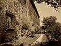 Galileo Galilei; sidewall of his villa at Arcetri. Process p Wellcome V0018709.jpg
