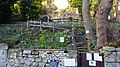 Gardens of the Chapel of Our Lady of the Crag, Knaresborough, Yorkshire.jpg