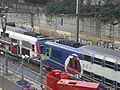 Gare Viroflay RG - mars 2013 - Z 8800 transilien berlingot et carmillon - travaux tramway.JPG