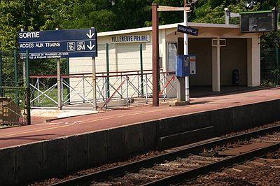 Gare de Villeneuve-Prairie