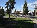 Garfield Main St Eastwards from reserve by rail line 10 Spt 07.JPG