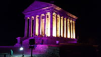 Garni temple at night.jpg