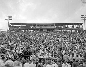 Gator Bowl Stadium - Image: Gator Bowl 1948