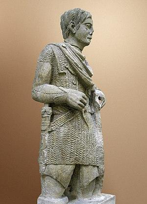 Roman Gaul - Image: Gaul warrior Vacheres 2
