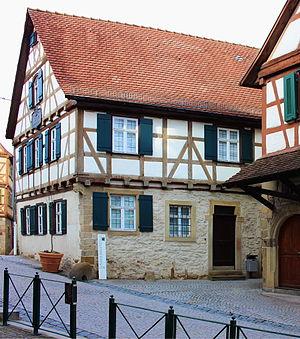 Marbach am Neckar - Image: Geburtshaus Friedrich Schiller in Marbach