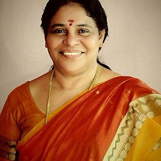 C. B. Geetha Indian politician