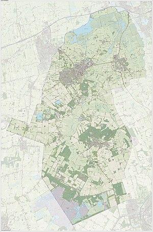 Noordenveld - Image: Gem Noordenveld Open Topo