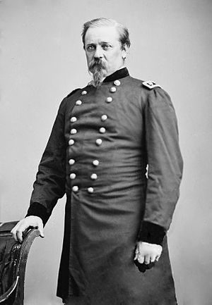 William Farrar Smith - An image of Smith likely taken during the Civil War.