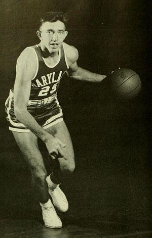 Gene Shue - Gene Shue at Maryland in 1954