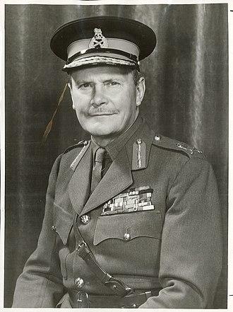 Bernard Freyberg, 1st Baron Freyberg - Bernard Freyberg in 1952