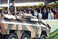 General Menandro, do CMP, pede autorização à pesidenta Dilma para o início do desfile (7950151512).jpg