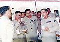 General Mirza Aslam Baig and Col. Hamid Mahmood.jpg