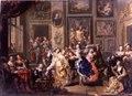 Genrebild. Oljemålning på koppar - Skoklosters slott - 65039.tif