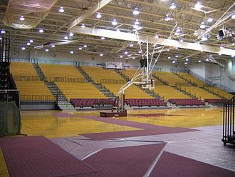 Joseph J. Gentile Arena - Interior prior to 2011 renovations.