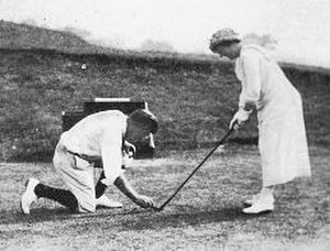 George Low Sr. - Image: George.Low.Sr Golf Lesson For Lady