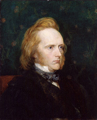 Scottish education in the nineteenth century - Commissioner George Douglas Campbell, the Duke of Argyll (c. 1860) by George Frederic Watts