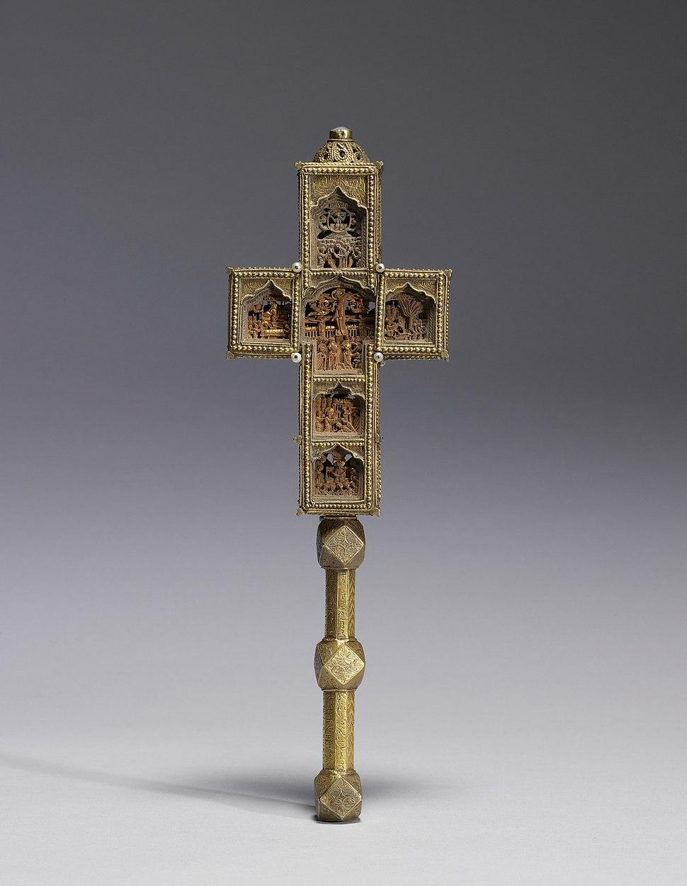 Georgian - Benediction Cross - Walters 61141 - Back
