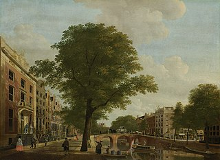 View of the Herengracht near the Leidsestraat, Amsterdam